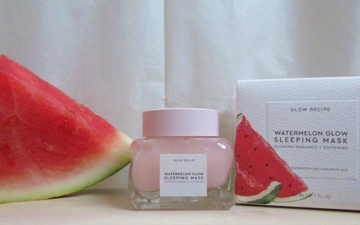 Watermelon Glow Sleeping Mask by glow recipe #22