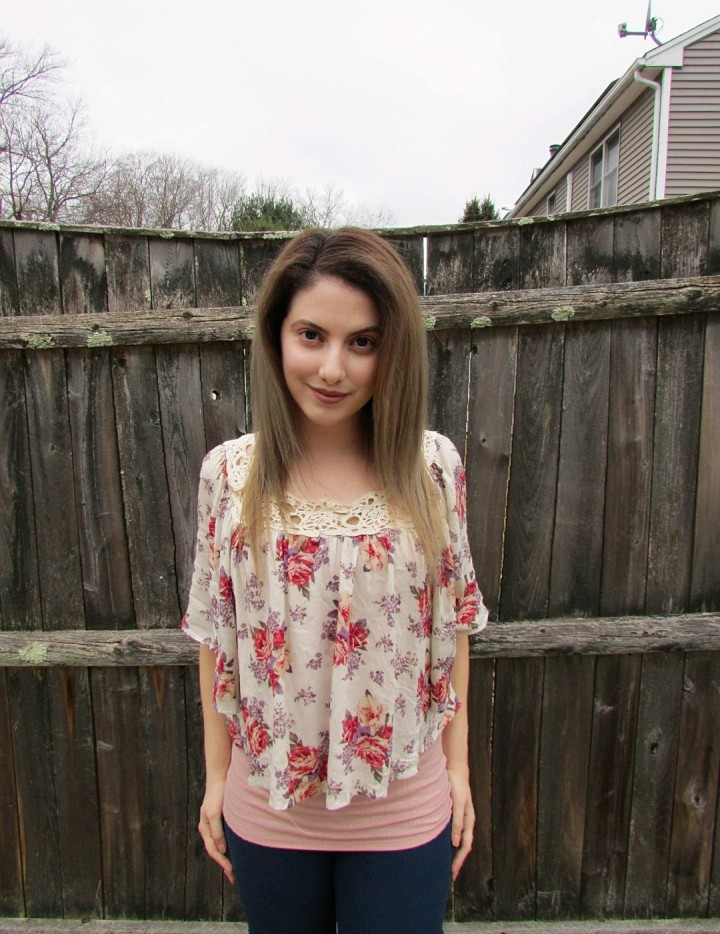 OOTD: Blossoms and BellSleeves
