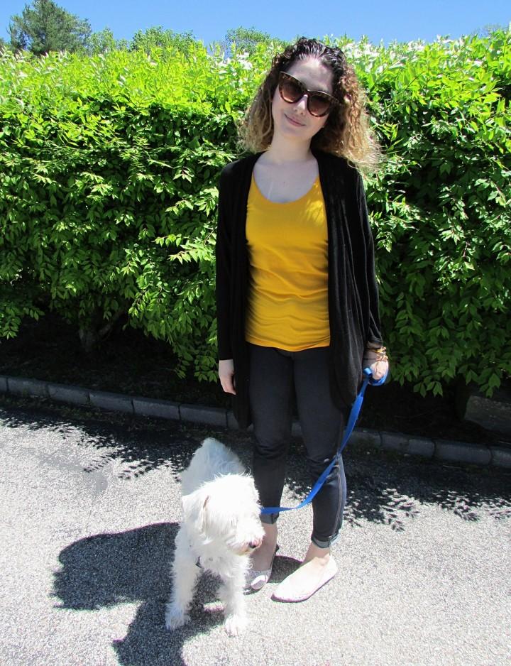 OOTD: Dressed-Down DogWalking…